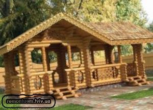 Виробництво дерев'яних альтанок у Львові