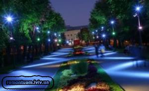 Вуличне освітлення :: Ціни у Львові