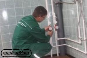 Монтаж водопроводу :: Ціни у Львові