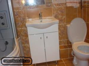 Об'єднання ванної кімнати з туалетом Львів