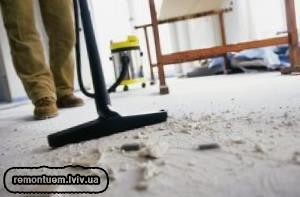 Якісне та швидке прибирання після ремонту у Львові