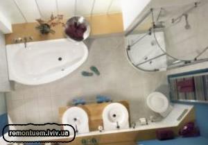 Ремонт туалета (санвузла) Львів