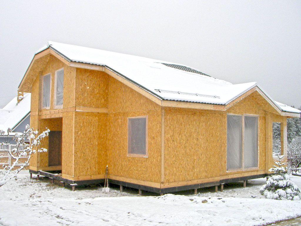 Будинок з сіп панелей у Львові
